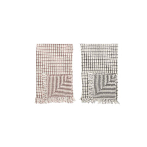 Grid Patterned Towel