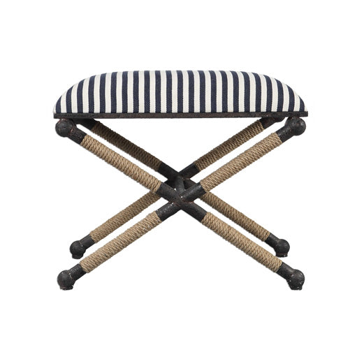 Carle Striped Bench