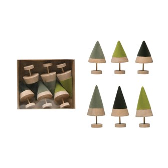 Wood Tree Gift Set