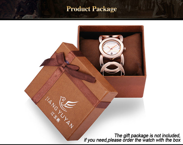 Luxury Crystal Gold Bracelet Watches For Women Fashion