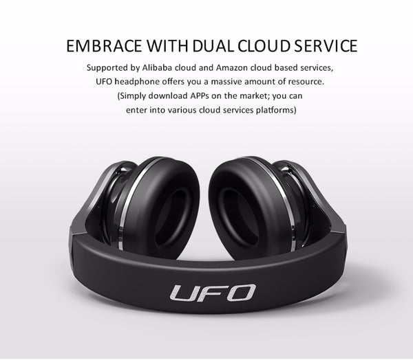 Bluedio UFO2, 8 Speakers, Bluetooth 5.0 Headphone Supports APTx