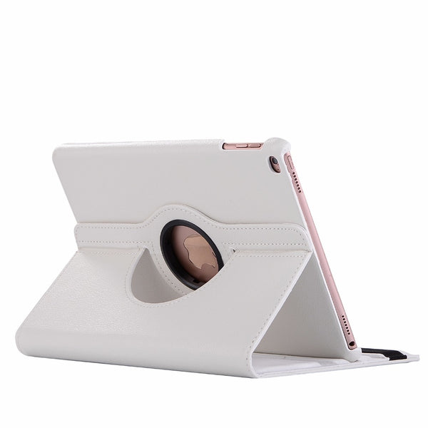 Rotating Leather Smart Cover Case for Apple iPad Air, iPad 9.7 5th 6th Generation