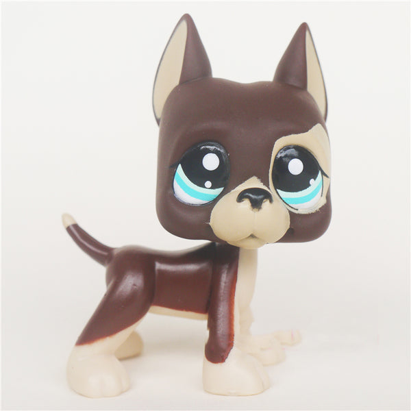 Round Eyes Littlest Pets with Brown Hair Toy