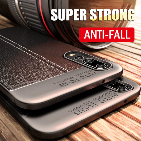 Luxury Leather Shockproof Matte Cover for Huawei P10 Plus Lite P20 Pro Honor 9 8 Lite 10 V10 Case For P10