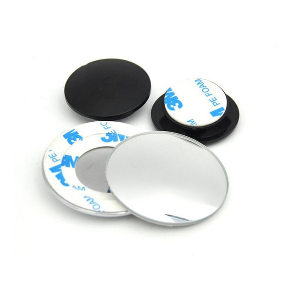 One Pair of 360 Degree Frameless Wide Angle Blind Spot Mirror