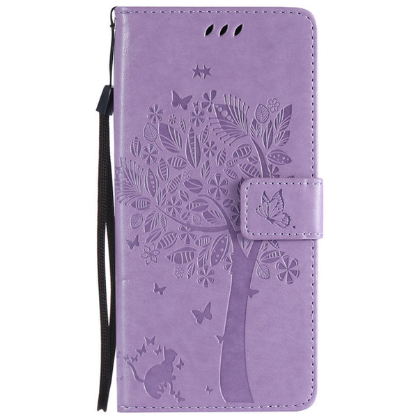 Leather Case For Huawei P20 Lite Case Wallet Flip Magnetic Stand Phone Case