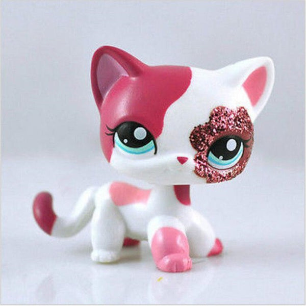 Big Starry Eyes Cats Littlest Pets Toy Doll Lps for Kids Gifts