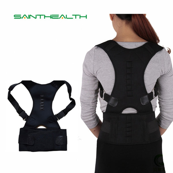 Magnetic Posture Corrector Brace Shoulder Back Support for Men & Women