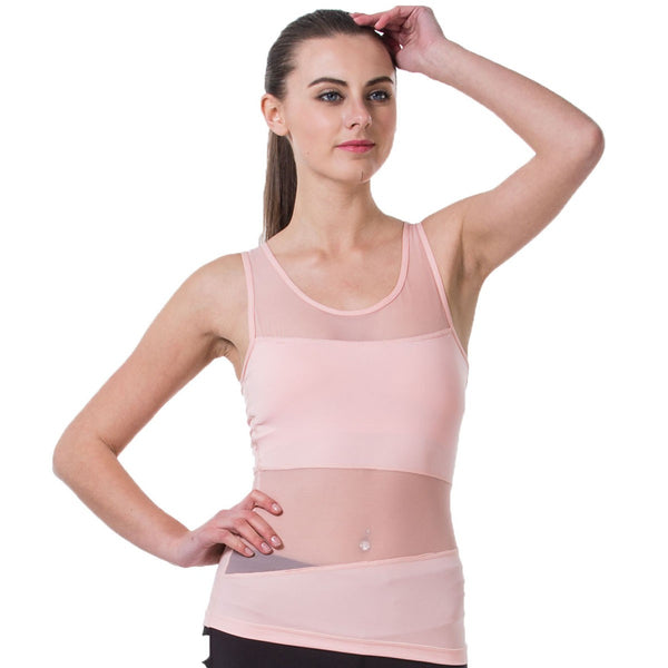 Sleeveless Yoga T-Shirt Tights With Quick Dry For Women