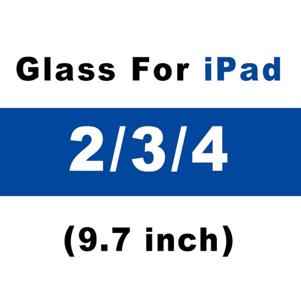 Screen Protector Glass For Apple iPad