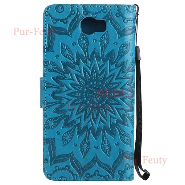 Leather Phone Case for Huawei Y6 ii Compact LYO-L21 LYO-L02 Y6 Elite