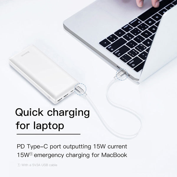 Powerbank with 30000mah Capacity For Mobiles & Laptops