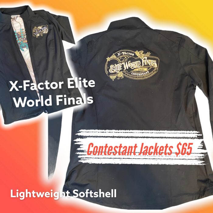 X-Factor Elite World Finals Contestant Jacket l Ladies Softshell