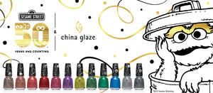 China Glaze- Sesame Street Holiday