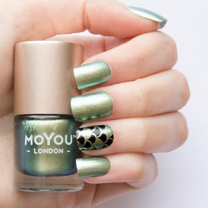 MoYou London- Metallic Stamping Polish- Croco Spark
