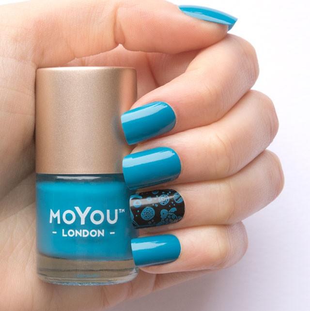 MoYou London- Stamping Polish- Deep Ocean