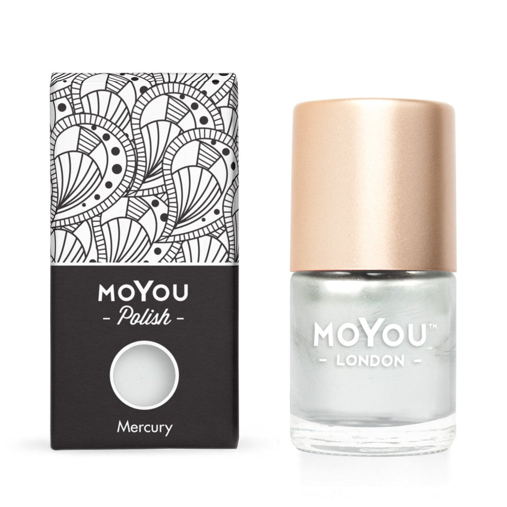 MoYou London- Metallic Stamping Polish- Mercury
