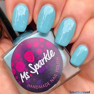 Ms. Sparkle- Spring 2018- I Never Get Tired of the Blue Sky