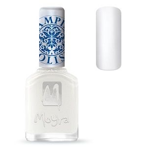 Moyra Stamping Nail Polish- No. 07 (White)