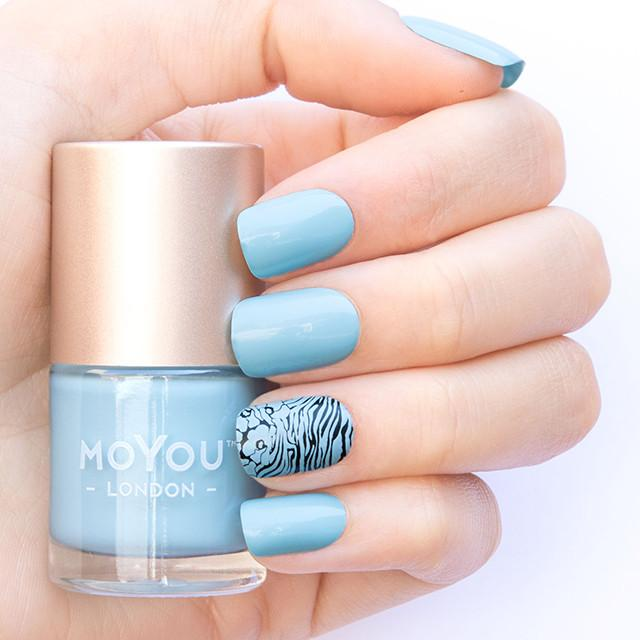 MoYou London- Stamping Polish- Glacier
