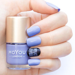 MoYou London- Stamping Polish- Periwinkle