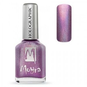 Moyra Holographic Effect Nail Polish- No255 Purple