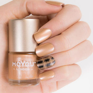 MoYou London- Metallic Stamping Polish- Fox Fur