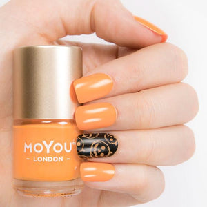 MoYou London- Stamping Polish- Pumpkin