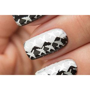 Dance Legend- Stamping Polish- Silver