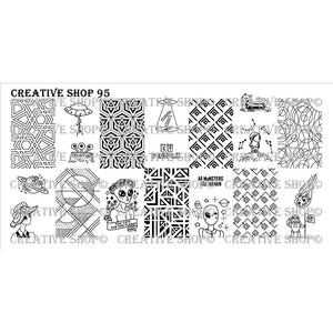 Creative Shop- Stamping Plate- 095