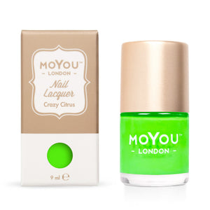 MoYou London- Neon Stamping Polish- Crazy Citrus