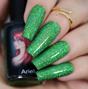 Esmaltes da Kelly- Princesses and Villains- Ariel