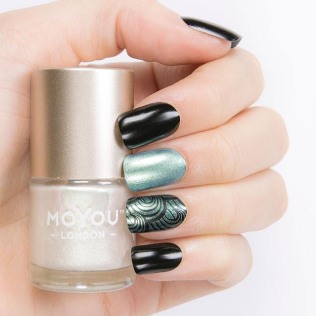 MoYou London- Pearl Shine Stamping Polish- Avalon Pearl
