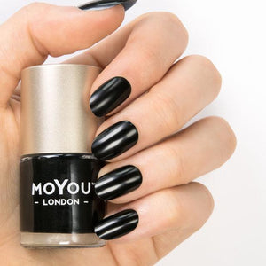 MoYou London- Premium Nail Polish- Jet Black