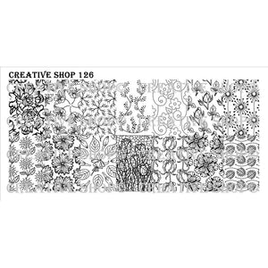 Creative Shop- Stamping Plate- 126