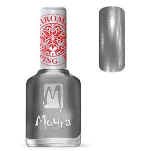 Moyra Stamping Nail Polish- No. 25 (Chrome Silver)