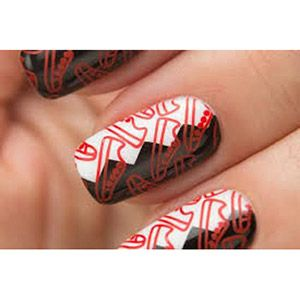 Dance Legend- Stamping Polish- Red