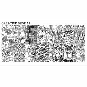 Creative Shop- Stamping Plate- 041