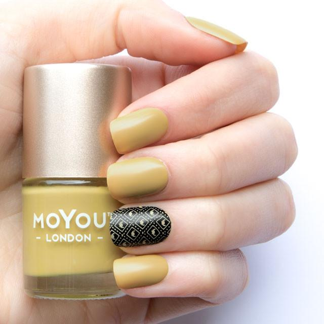 MoYou London- Stamping Polish- Colonel Mustard