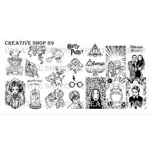 Creative Shop- Stamping Plate- 069