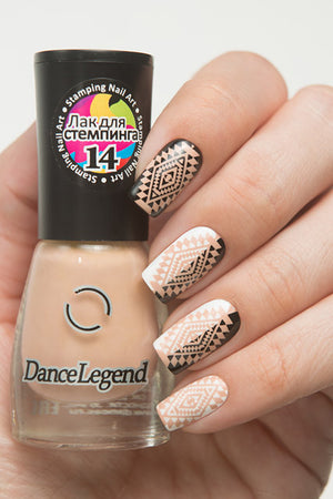 Dance Legend- Stamping Polish- Beige