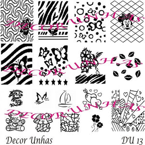 Decor Unhas DU13