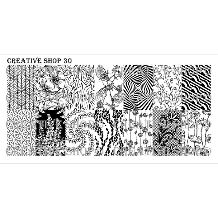 Creative Shop- Stamping Plate- 030