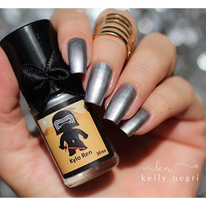Esmaltes da Kelly- Star Wars- Kylo Ren