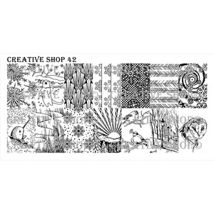 Creative Shop- Stamping Plate- 042