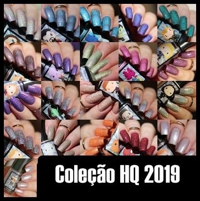 Esmaltes da Kelly- HQ 2019- Full Collection
