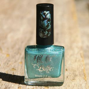 "Hit the Bottle ""Turquatic"" Stamping Polish"