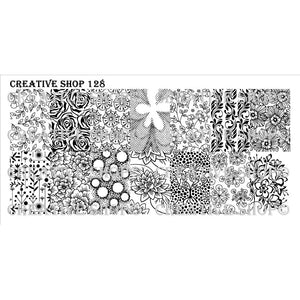 Creative Shop- Stamping Plate- 128