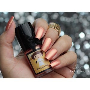 Esmaltes da Kelly- Star Wars- Princess Leia