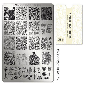 Moyra Stamping Plate 17 - White Wedding